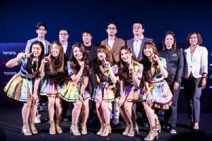 โตโยต้า จัดโชว์ BNK48 เปิดศึกอีสปอร์ต CS:GO ระดับโลก!