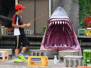 บ่อตกปลาสุดน่ากลัวในกรุงโตเกียว!?