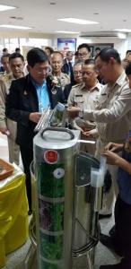 เครื่องซีลผัก-ผลไม้แรงดันน้ำต่อยอดไอเดียชาวบ้าน ไม่ใช้ไฟฟ้า