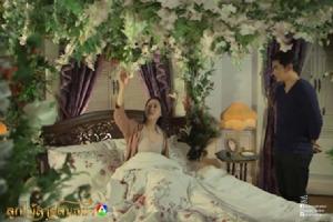 """หวานเวอร์!! """"ฌอห์ณ"""" เติมรักให้ """"พิม"""" ด้วยเตียงดอกไม้"""