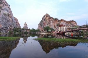 """อะเมซิ่ง""""เขางู"""" งามทรงคุณค่า แหล่งศึกษา""""หินปูน""""ชั้นเยี่ยมของเมืองไทย/ปิ่น บุตรี"""