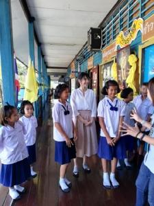 """เผยภาพ """"เฌอปราง"""" กัปตัน BNK48 ถ่ายรายการเดินหน้าประเทศไทยวัยทีน เทปแรก บรรยากาศเต็มไปด้วยรอยยิ้ม"""
