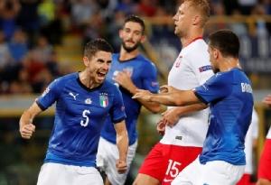 """""""จอร์จินโญ่"""" ซัดโทษ พา """"อิตาลี"""" ไล่ตีเจ๊า """"โปแลนด์"""" 1-1 ศึกเนชั่นส์ ลีก"""