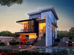 """พีดีเฮ้าส์ แนะนำแบบบ้าน 3 ชั้น ในธีม """"HOME OFFICE"""" ตอบโจทย์ทุกครอบครัวใหญ่"""