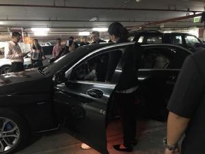 """คนขับรถเลขาผู้ตรวจฯ วูบคาเบนซ์ประจำตำแหน่ง """"รักษเกชา"""" สั่งดูแลล่าสุดปลอดภัย"""