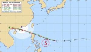 """ไต้ฝุ่นยักษ์บนกูเกิ้ลเอิร์ธมหึมามหาศาลน่าอัศจรรย์สุดๆ """"มังคุด"""" บ่ายหน้ากลับไทย"""
