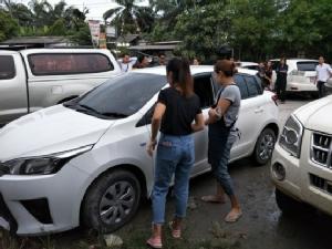 โชคดีสุดๆ สาวร้านขายโทรศัพท์ถูกคนร้ายขโมยรถเก๋งคู่ใจไปแล้วได้คืน