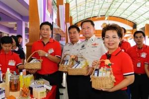 """กรมราชทัณฑ์จับมือไปรษณีย์ไทย เปิดช่องทางจัดจำหน่ายผลิตภัณฑ์ """"วังมัจฉา"""" ฝีมือผู้ต้องขังเรือนจำมีนบุรี"""
