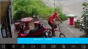 โจรชุม! นักข่าวเมืองน้ำดำเจอเอง ถูกขโมยจักรยานหน้าร้านฟิตเนส