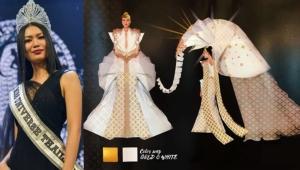 เผยโฉมชุดประจำชาติไทยบนเวที Miss universe 2018