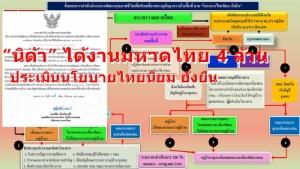 """""""นิด้า"""" ได้งานมหาดไทย 4 ล้าน ประเมินไทยนิยม ยั่งยืน หมู่บ้าน/ชุมชน 2 แสน ถึงสิ้นปี"""