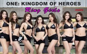 """ส่องสาวๆ """"Ring Girls"""" สาดสีสันนัดหยุดโลก  """"ONE: KINGDOM OF HEROES"""""""