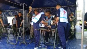 ทร.ซ้อมทีมแพทย์ฉุกเฉิน พร้อมเดินทางช่วยผู้ประสบภัยสึนามิ อินโดฯใน 2 ชม.