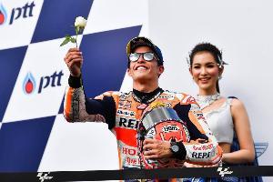 """เปิดใจ """"มาร์ค มาร์เกซ"""" แชมป์โมโตจีพี ในไทยคนแรก"""