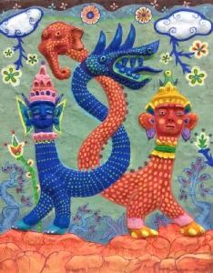 """เซ็นทรัลพลาซา อุบลราชธานี ดันอุบลฯ สู่เมืองอาร์ตจัดงานนิทรรศกาลศิลปะร่วมสมัย """"ราชธานีแห่งศิลปะ"""" ครั้งแรกในอีสานใต้ ชมภาพวาดโดยสีอะคริลิกใหญ่ที่สุดในโลกสูงเท่าตึก 3 ชั้น สนับสนุนงานศิลป์ถิ่นอีสาน และรวมผลงานศิลป์เก่าอาชีวศึกษาอุบลราชธานี"""