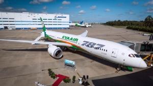 อีวีเอ รับมอบโบอิ้ง 787-9 ดรีมไลเนอร์ลำแรกเข้าประจำการ เตรียมสั่งเพิ่มอีก 3