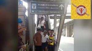 รพ.ตำรวจ ชวน ปชช. ร่วมบริจาคสร้างสะพานเชื่อม BTS หลังพบผู้ป่วยเป็นลมบน Sky Walk (ชมคลิป)