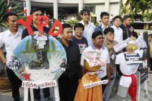 """ประชาชนร่วมรำลึก """"45 ปี เหตุการณ์ 14 ตุลาคม"""" วันประวัติศาสตร์การเมืองไทย"""