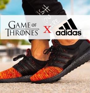 มาแน่ๆ ลูกผสมระหว่าง Adidas UltraBoost 1.0 กับซีรีย์ดัง Game of thrones