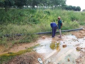อุตฯ ระยอง สั่งโรงงานปุ๋ยปล่อยน้ำเสียเร่งตัดท่อระบายน้ำเสียจากโรงงานใน 3 วัน
