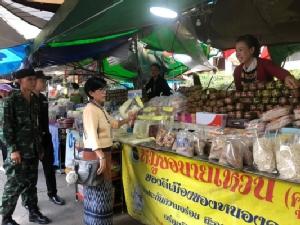 ตรวจตลาดท่าเสด็จรับนักท่องเที่ยวช่วงออกพรรษาบั้งไฟพญานาค