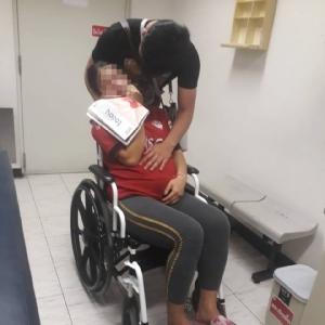 รอดหวุดหวิด สาวท้องแก่ใกล้คลอดแน่นหน้าอกฉุกเฉิน BTS-พลเมืองดีช่วยทันส่งถึงมือหมอ