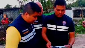 ตม.จันทบุรี สนธิกำลังตำรวจ สภ.เมืองจันท์ บุกตรวจค้นแคมป์คนงานชาวกัมพูชา