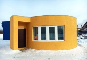 บ้านที่สร้างด้วยเทคโนโลยี้ 3D Printer