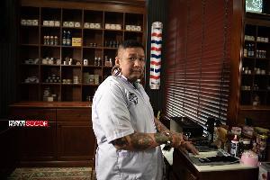 โอลด์สคูลแบบมีสไตล์ที่ Good Old Days Barber Shop