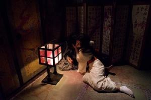 อีกหนึ่งมุมหลอนที่ Haunted House (ภาพโดย : Toei Kyoto Studio)