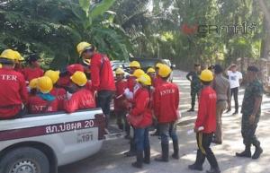 บุกจับ 23 แรงงานต่างด้าวคาไซต์งานบนเกาะสมุย พบปลอมแปลงเอกสาร-หลบหนีเข้าเมือง