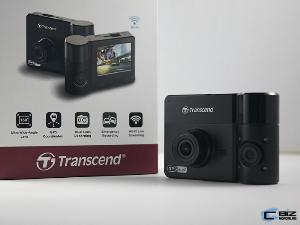 Review : Transcend DrivePro 550 กล้องติดหน้ารถเลนส์คู่บันทึกนอกรถ-ในรถ