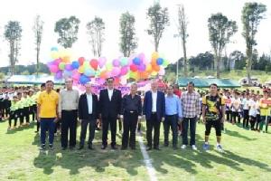 เครือซีพีสร้างสนามฟุตบอลมหาลาภ เปิดพื้นที่ส่งเสริมสุขภาพชาวปากช่อง