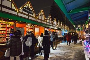 เทศกาลประดับไฟฤดูหนาวซัปโปโร ไวท์ อิลลูมิเนชัน (ภาพจาก JNTO โดย : City of Sapporo)