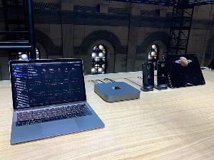 การจำลองใช้งาน Mac Mini ที่ผู้ใช้สามารถสั่งเรนเดอร์แอปพลิเคชันจากบน MacBook แล้วใช้เครื่อง Mac Mini ในการประมวลผล