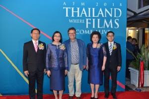 งาน Thai Night ใน American Film Market 2018 โดยกรมส่งเสริมการค้าระหว่างประเทศ (DITP) ดึงดูดผู้ประกอบการภาพยนตร์จากทั่วโลก