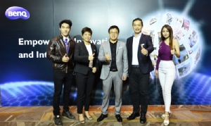 BenQ แย้มกลยุทธ์ปีหน้า โชว์ยอดขายไทยปี 61 ทะลุ 280 ล้านบาท