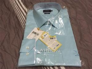 """Review : ซื้อจริงใส่จริง! """"เสื้อเชิ้ตเบอร์ 5"""" ของ ARROW ที่เขาว่าสวมได้ไม่ต้องรีด"""