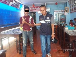 ตม.สตูล บุกลุยเกาะหลีเป๊ะจับกุมชาวต่างด้าวแฝงตัวทำงานในร้านอาหาร