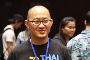 ดร.บุญญฤทธิ์ อุยยานนวาระ ผู้ร่วมก่อตั้งบริษัทไทยดอทรัน จำกัด และเป็นผู้เชี่ยวชาญด้าน Image processing