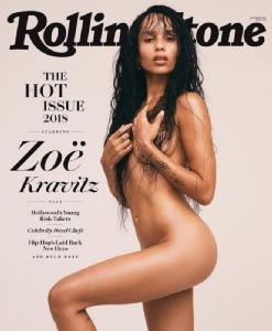 โซอี คราวิตซ์ บนปก Rolling Stone