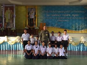 องคมนตรี ตรวจเยี่ยมโรงเรียนราชประชานุเคราะห์ 47 จ.เพชรบุรี