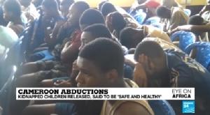 In Clip: 79 นักเรียนแคเมอรูนพร้อมจนท.โรงเรียนถูกปล่อยตัวเป็นอิสระ 1 วันหลังปธน.คนใหม่เข้าสาบานตัว