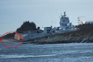 """เรือขนน้ำมันมอลตาเกิดประสานงากับ """"เรือรบฟริเกตนอร์เวย์"""" นอกชายฝั่งฟยอร์ดทางตะวันตก บาดเจ็บ 7"""