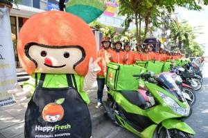 HappyFresh Bike Troop ตอกย้ำความเป็นผู้นำแพลตฟอร์มซูเปอร์มาร์เก็ตออนไลน์อันดับ 1 ของคนกรุง