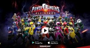 """""""Power Rangers: All-Stars"""" พร้อมออกรบบนมือถือแล้ววันนี้"""