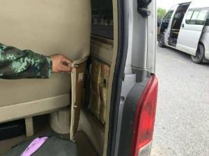ตะลึง! จนท.สกัดจับรถตู้ขนยาเสพติด 3 คันรวด คาด่านพยุหะคีรี
