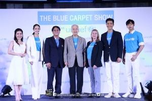"""""""ชีวอน-มิน-เป๊ก"""" ร่วมแถลงข่าวเปิดโครงการ The Blue Carpet Show for UNICEF"""