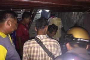 แรงงานพม่าเมาถือมีดบุกทำร้ายเพื่อนร่วมชาติ แต่ถูกแทงสวนดับคาที่