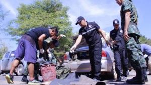 พบรถยนต์เก๋งอดีตทหารม้ายิงแฟนสาวเจ็บ จอดซ่อนในบ้านเพื่อนที่ จ.ปราจีนบุรี